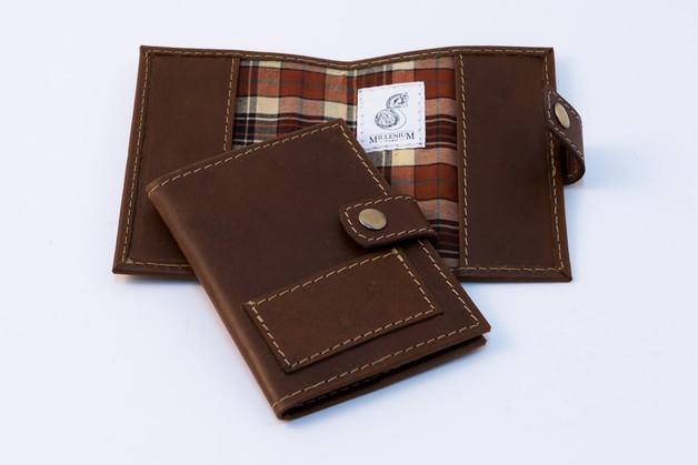 Millenium Paris: Colette Card Holder - Pull Up Brown