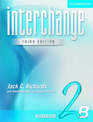 Interchange Workbook 2B: 2B: Workbook by Jack C Richards image