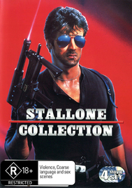 Stallone Collection on DVD image