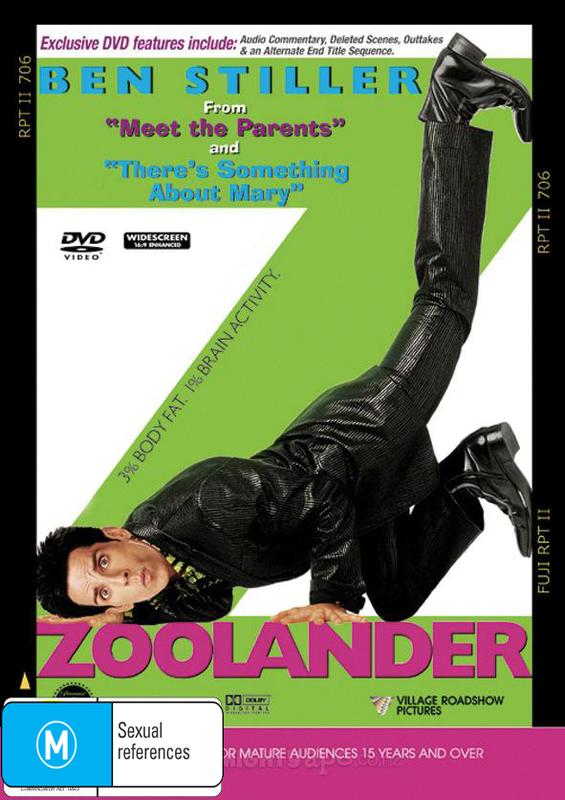 Zoolander on DVD