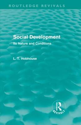 Social Development by L.T. Hobhouse