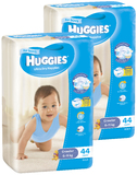 Huggies Nappies Bulk Bundle - Crawler Boy 6-11kg (88)