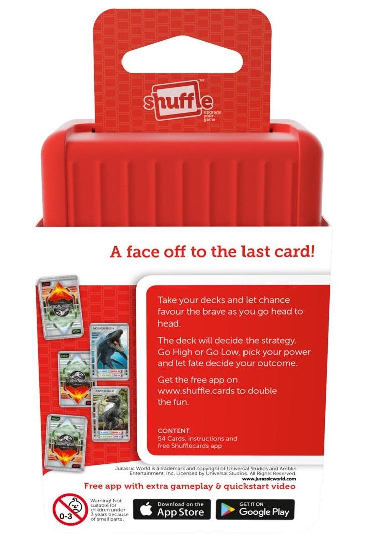 Jurassic World Shuffle: Number Rumble - Card Game