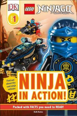 LEGO NINJAGO Ninja in Action! by Beth Davies image