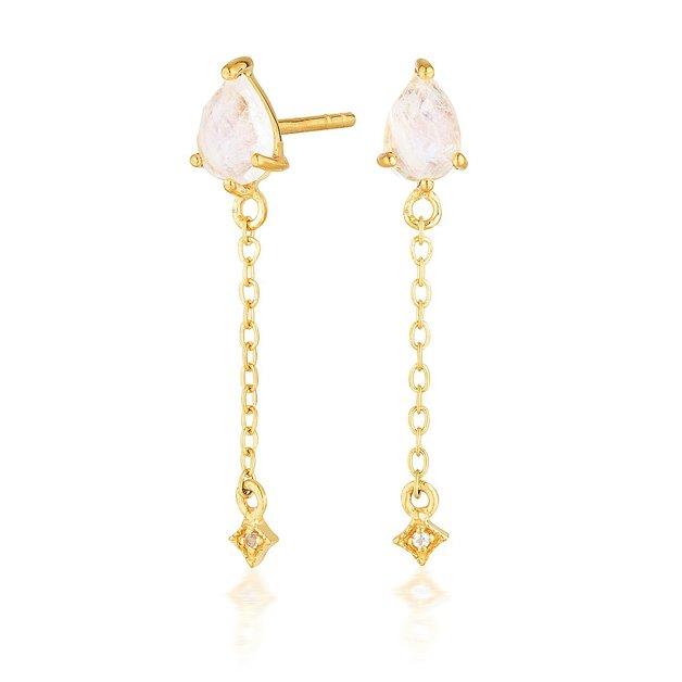 EL & RO: Vega Drop Earrings - Gold