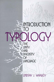 Introduction to Typology by Lindsay J. Whaley image