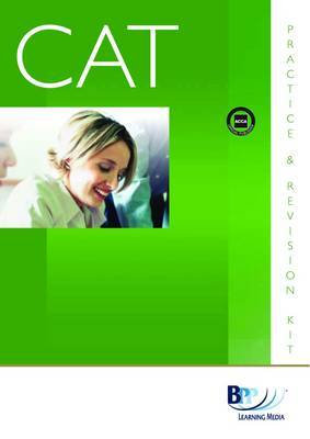 CAT - 1 Recording Financial Transactions (INT): Kit by BPP Learning Media image