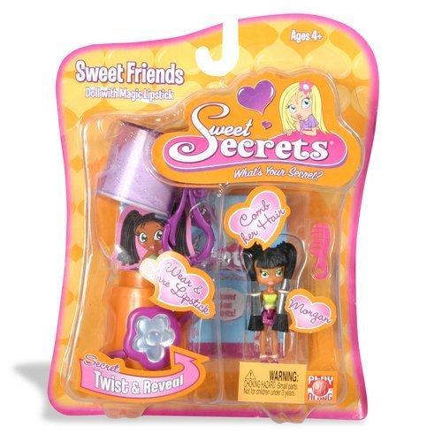 Sweet Secrets Fashion Doll and Lipstick Case: Morgan