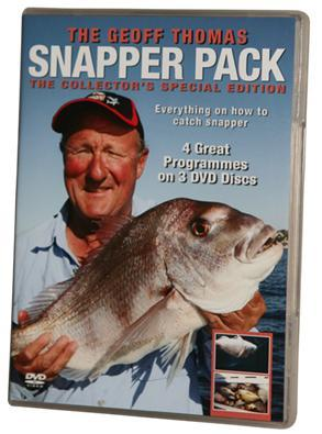 Geoff Thomas: Snapper Pack (2 Discs) on DVD