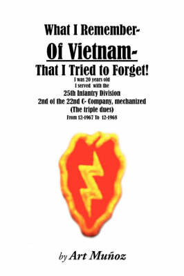 What I Remember of Vietnam I Tried To Forget by Art, Munoz