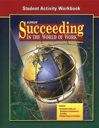 Succeeding in the World of Work Student Activity Workbook by McGraw Hill image