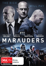 Marauders on DVD