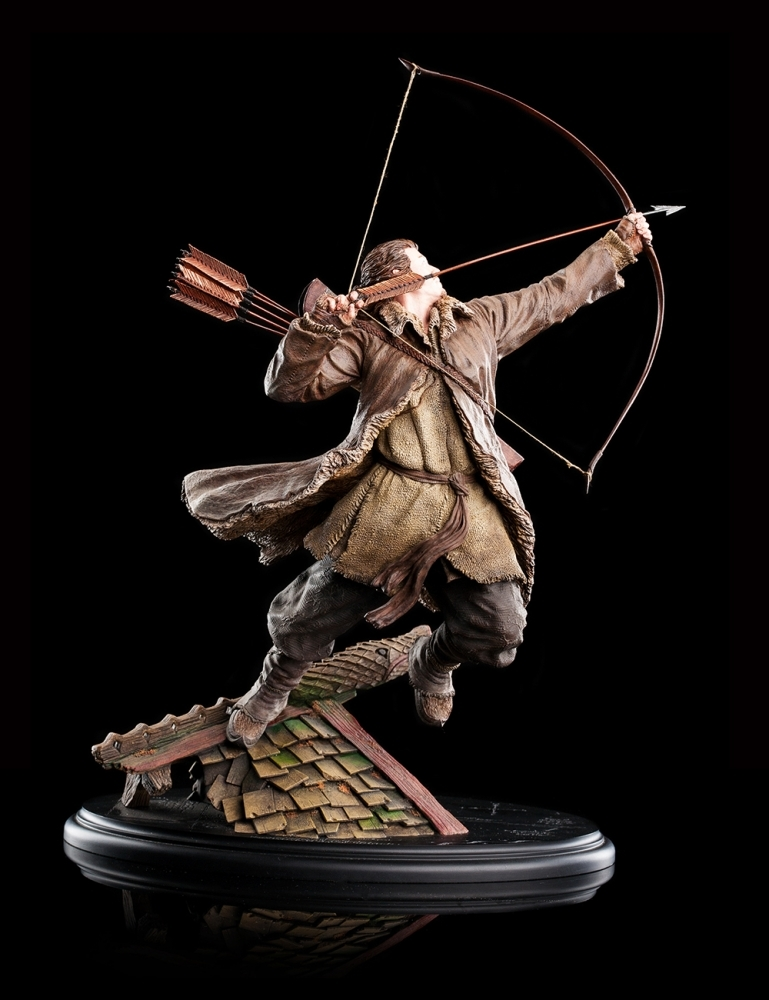 The Hobbit: Bard the Bowman - 1:6 Scale Replica Statue image