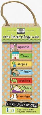 Green Start Book Towers: Little Learning Books by Ikids image