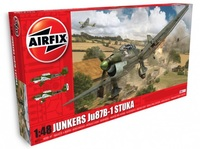 Airfix: 1:48 Junkers Ju87B-1 - Model Kit