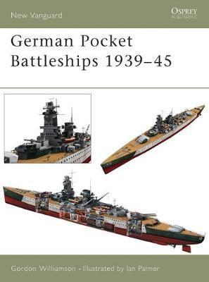German Pocket Battleships 1939-45 by Gordon Williamson image