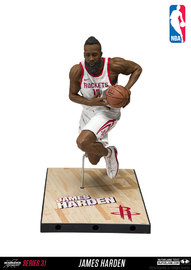 """NBA SportsPicks: James Harden (Houston Rockets) - 6"""" Action Figure"""