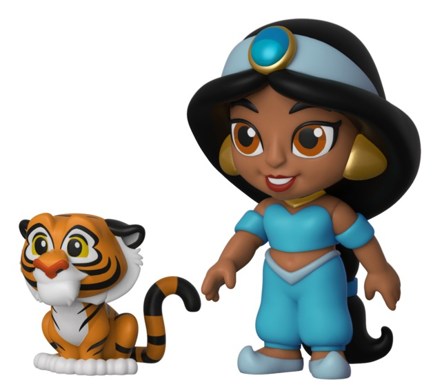 Aladdin: Jasmine with Rajah - 5-Star Vinyl Figure