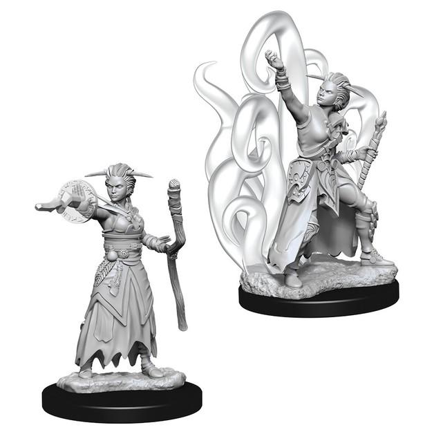 D&D Nolzur's Marvelous: Unpainted Miniatures - Female Human Warlock