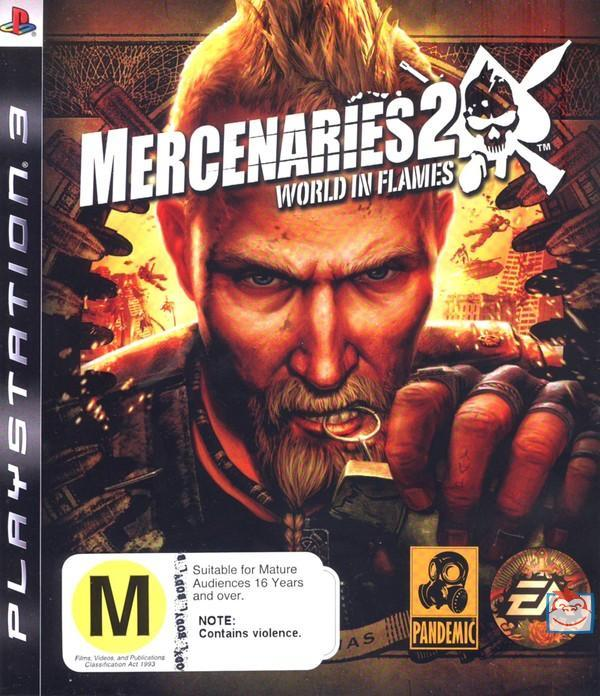 Mercenaries 2: World in Flames for PS3