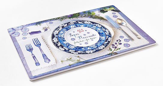 The Forest Feast Paper Placemats Pad by Erin Gleeson