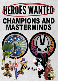 Heroes Wanted: Champions and Masterminds #1 - Expansion Set