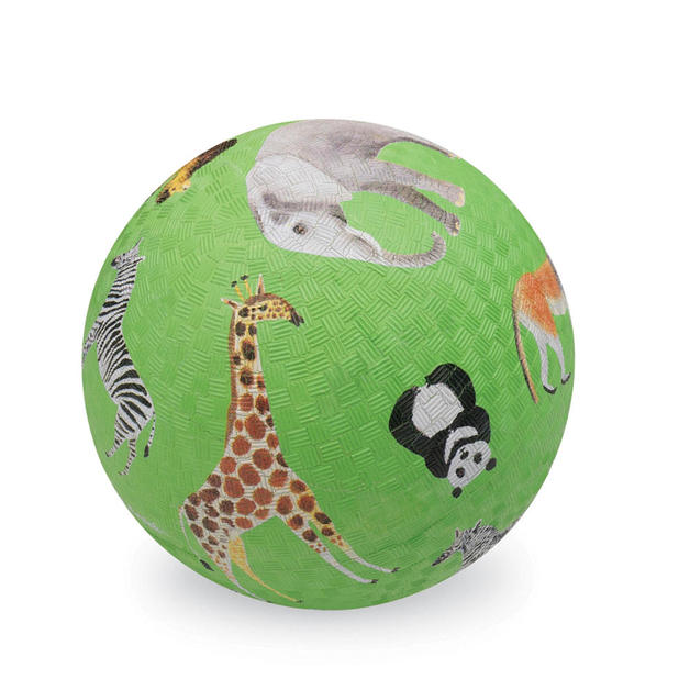 "Crocodile Creek: 7"" Playground Ball - Wild Animals"