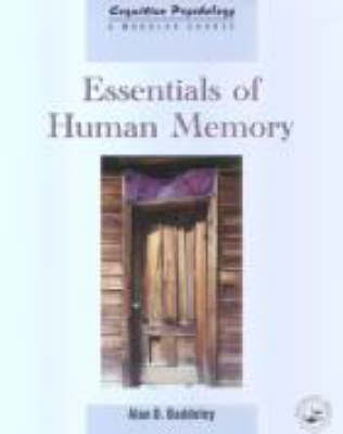 Essentials of Human Memory by Alan D Baddeley image