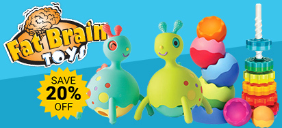 20% off Fat Brain Toys
