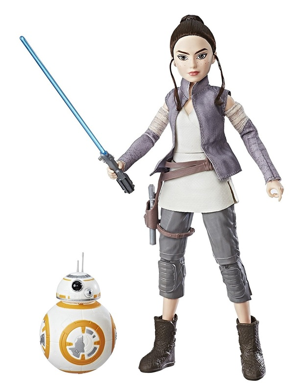 Star Wars: Forces of Destiny Adventure Doll - Rey & BB-8