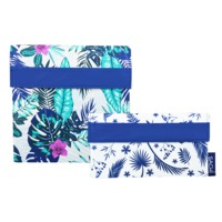Sachi Reuseable Lunch Pocket Set - Tropical Paradise