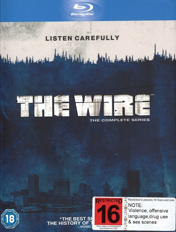 The Wire - The Complete Series on Blu-ray
