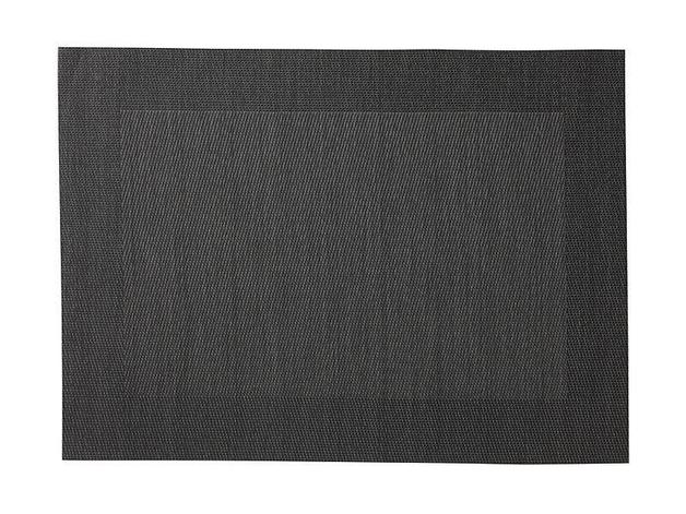Maxwell & Williams Placemat - Charcoal Wide Border