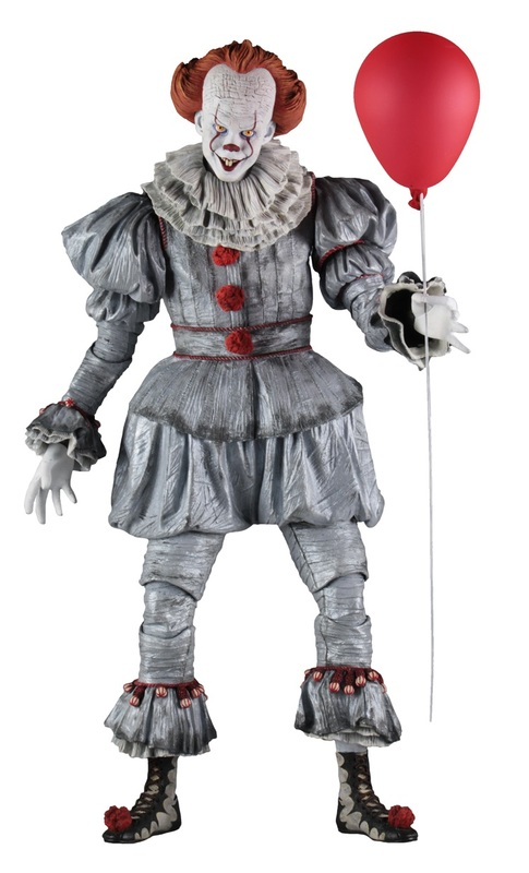 It (2017): Pennywise - 1:4 Scale Action Figure