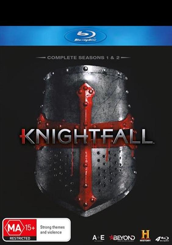 Knightfall - The Complete Seasons 1-2 on Blu-ray