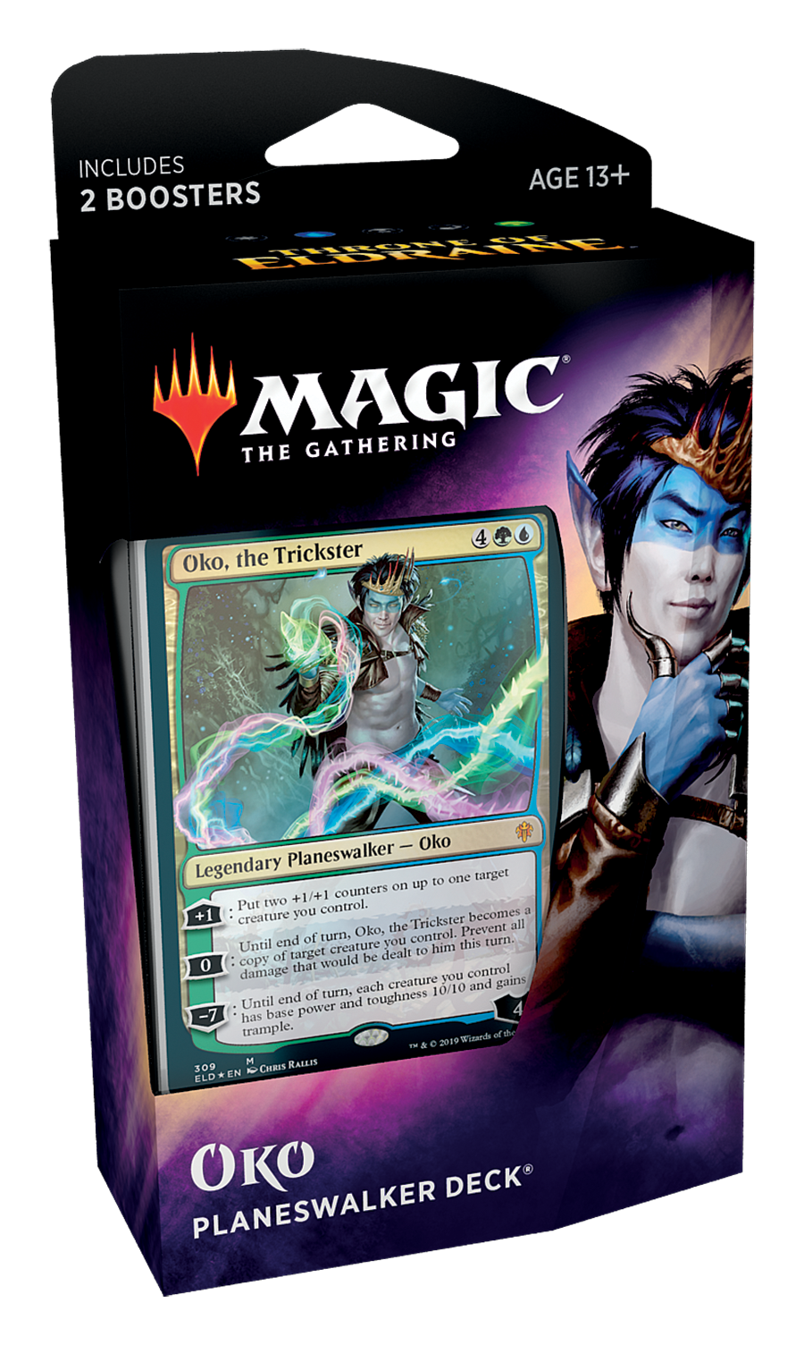 Magic The Gathering: Throne of Eldraine Planeswalker Decks- Oko image