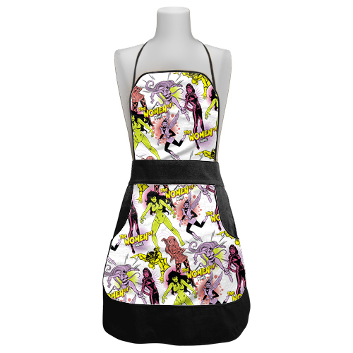 Marvel Ladies Retro Apron