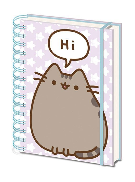 Pusheen: A5 Notebook - Pusheen Says Hi