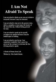 I am Not Afraid to Speak by Etta , Smith Martin image