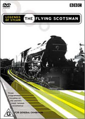 Legends Of Steam - The Flying Scotsman on DVD