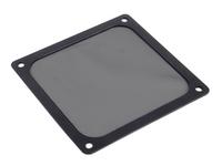 120mm SilverStone FF123 Magnetized Fan Filter (Black) image