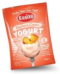 EasiYo Gourmet Range Peaches & Cream
