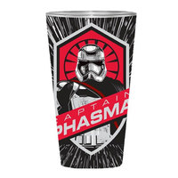 Star Wars Captain Phasma Full Wrap Pint Glass (470ml)