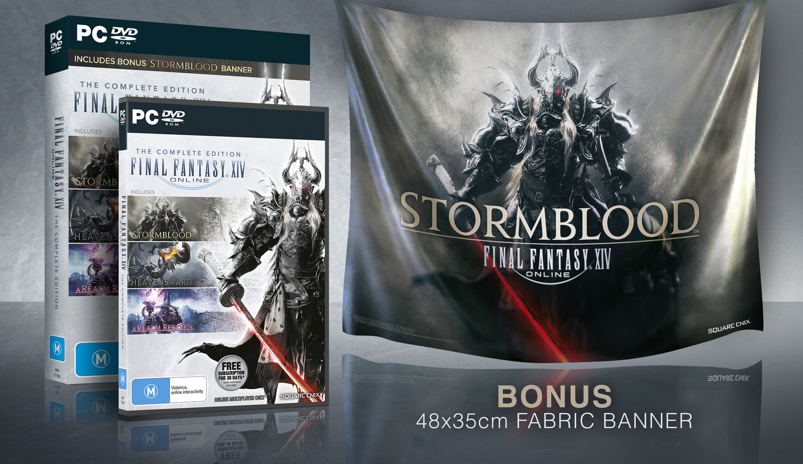 Final Fantasy XIV: Complete Edition + Banner