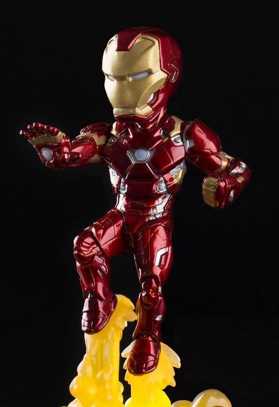 Marvel - Iron Man (Light-Up) - Q-Fig FX Diorama