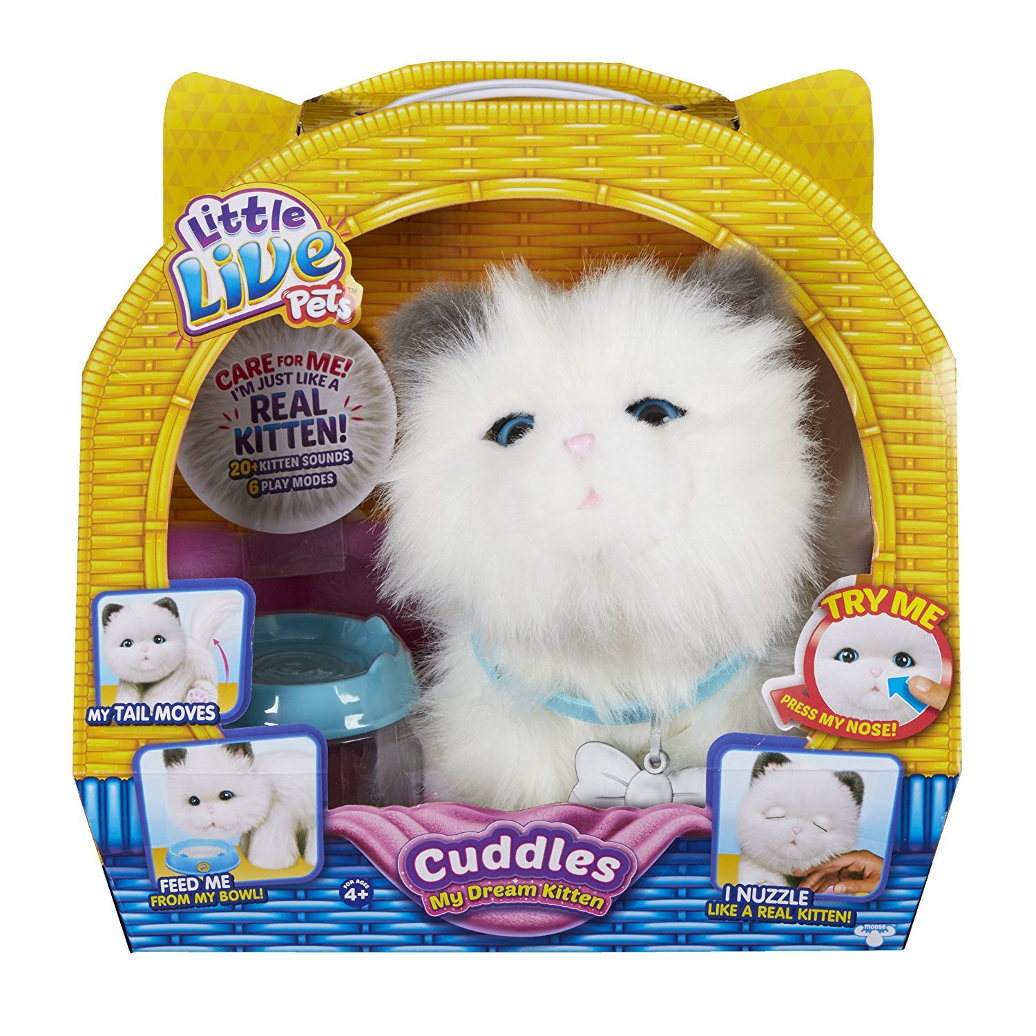 Little Live Pets: My Dream Kitten - Cuddles image