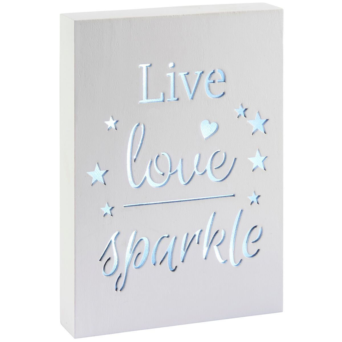 Light Up Plaque - Live Love Sparkle image