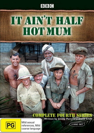 It Ain't Half Hot Mum - Complete Series 4 (2 Disc Set) on DVD image