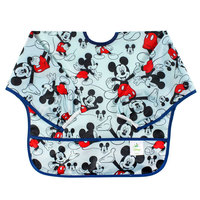 Bumkins Sleeved Bib - Mickey Mouse
