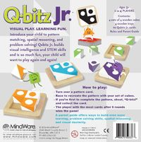 Mindware Games: Q-bitz Jr. - Visual Learning Game image